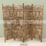 moroccan carved wood screens dividers