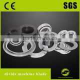 JIAHE divide machine blade for Paper, adhesive tape, tape, film, gold, silver, copper, aluminum, titanium foil