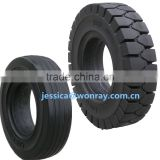 china factory solid tire 4.00-8 for linde forklift spare parts