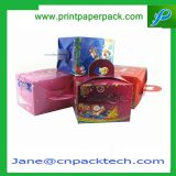 Custom Suitcase Box Colorful Delicate Paper Packaging Christmas Gift Boxes