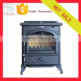 freestand wood burning Cast Iron Stove indoor fireplace