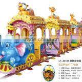 So cute animal elephant high quality guarantee best price electric train set from direct professional factory