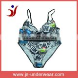 sourcing price pinted foam padded bra