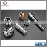 China Factory CNC Machining Services Gold Plating Steel CNC Machining Parts, aluminium cnc milling machining service