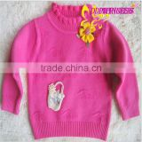 2015 New autumn children's clothing factory direct wholesale woolen sweater designs for children