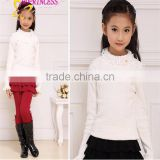 2015 children's clothing factory direct wholesale of knit sweater for girls,winter clothes for children