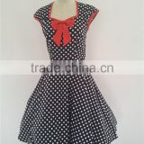 Plus size instyles zhengtian halloween costume rockabilly VINTAGE 50'S RETRO ROCKABILLY SWING DRESS polka dot dress formal dress