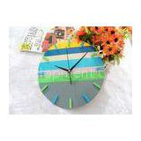 Northern Europe Styling Acrylic Round Wall Clock For Home Decoration