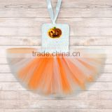 Wholesale infant baby pumpkin birthday tutu dress, ravishing girls Halloween tutu set M5091211