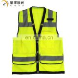 CNSS customized design and color high visibility mesh reflective safety vest