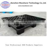 Plastic conductive pallet for esd industry use