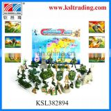 hot sale kids mini plastic toy military set for wholesale