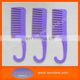 Plastic shower hanging comb/plastic comb/combs wholesale