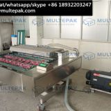 automatic continuous conveyor belt vacuum packaging sealer machine