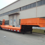 Heavy equipment transport lowbed semi trailer 120ton low loader trailer best price