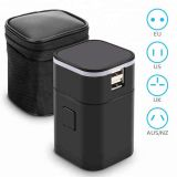 LED logo Travel Multiple Plug/World travel adapter/Electrical adapter plug