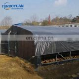 Hydroponics Panda Film Black White Cover for Edible fungus / Medicinal herbs growing greenhouse
