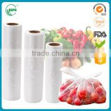 Supermarket Roll Stay Fresh Vegetable Packaging Bag                                                                         Quality Choice
