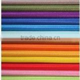 colorful cotton braided textile cable