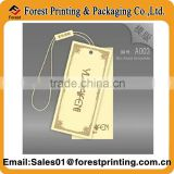custom hang tags/hang tag elastic loops/hang tags with string with high quality                                                                         Quality Choice