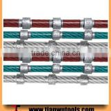 High quality Small wire saw beads diamond wire for cutting marble and granite                                                                                                         Supplier's Choice