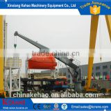 Hot sale top qulity wsl 10t Used Small size Hydraulic Offshore pedestal ship cranes for sale with ABS Certificate
