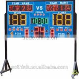 Cheap LED scoreboard and LED countdown for outdoor sports