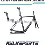 Top quality 3K/UD road bicycle 50/52/54/56/58cm size BB30 include fork carbon road bike frame disc brake