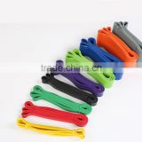 Eco-Friendly Latex Resistance Band/Yoga band/latex exercise loop band                                                                         Quality Choice