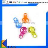 Colorful plastic kitchen gadget egg white filter separator/egg separator