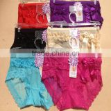 0.62USD 100% High Quality Mixing Colors Softy Material Fat Sexy Ladies Panties/Thongs/Lady Panty (lppgdnk048)