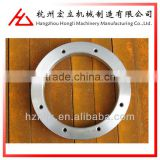 OEM ISO 9001 excircle145 weld neck carbon steel reduced tube flange sheet metal fabrication