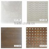 Perforated gypsum board use for Ceiling