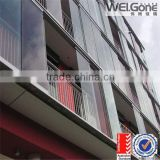 factory transparent balcony glass balustrade wholesale