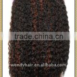 Synthetic hair weft popular in africa,african synthetic hair extension weave