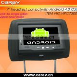 With demo software for advertising on buses andriod car pc