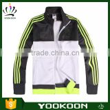 wholesale Mens power stretch thin Jacket Slim fit Track jacket Breathable running Sport Jacket