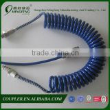 Professional Coiled PU Brake Air Hose With Swivel Fitting                                                                         Quality Choice