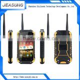 best waterproof cell phone walkie talkie phone android 4.4 octa core dual sim smart phone