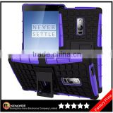 Keno Manufacturer Wholesale for Oneplus Two Armor Impact Skin Holster Protector Combo Case Cover, Mobile Phone Cases for Oneplus