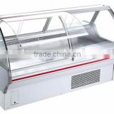 High quality Commercial Display Freezer for Frozen Food Shop, Display Chest Freezer, glass door ice cream freezer