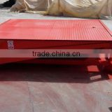 2015 hot sale container unloading dock ramp steel trailer ramp with CE