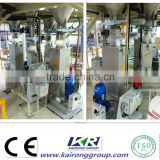 Parallel Small Twin Screw Extruder with loss weight feeder( Water cool bracing pelletizing )