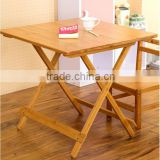 China manufacture furniture natural dining table bamboo folding table,Beautiful bamboo furniture