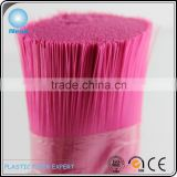 FDA grade PP brush filament yarn in pink color for sanitary brush or disposable hotel toothbrush
