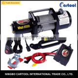 12v electric capstan winches 6000lbs/car winch/mini 12v electric winch