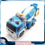 2.4GHz 8 channels rc concrete mixer truck with sound, plastic tool truck toy for big children