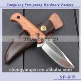 OEM Browning outdoor multifunctional camping hunting survival fixed blade knife/knives