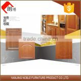 Solid Wood Cabinet Doors , Lacquer Finish Kitchen Cabinet , Solid Walnut Interior Doors