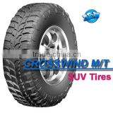 LINGLONG BRAND CROSSWIND M/T mud tires